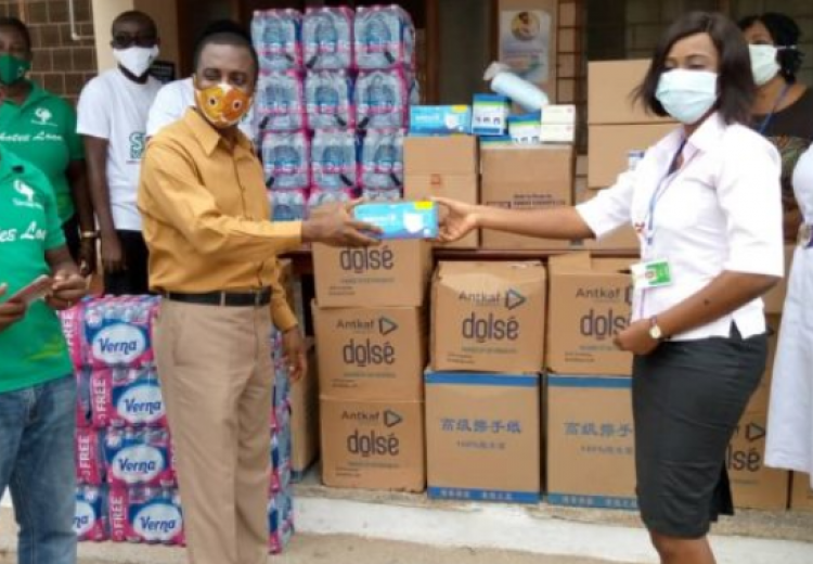 sinapi donates to KCCR and others